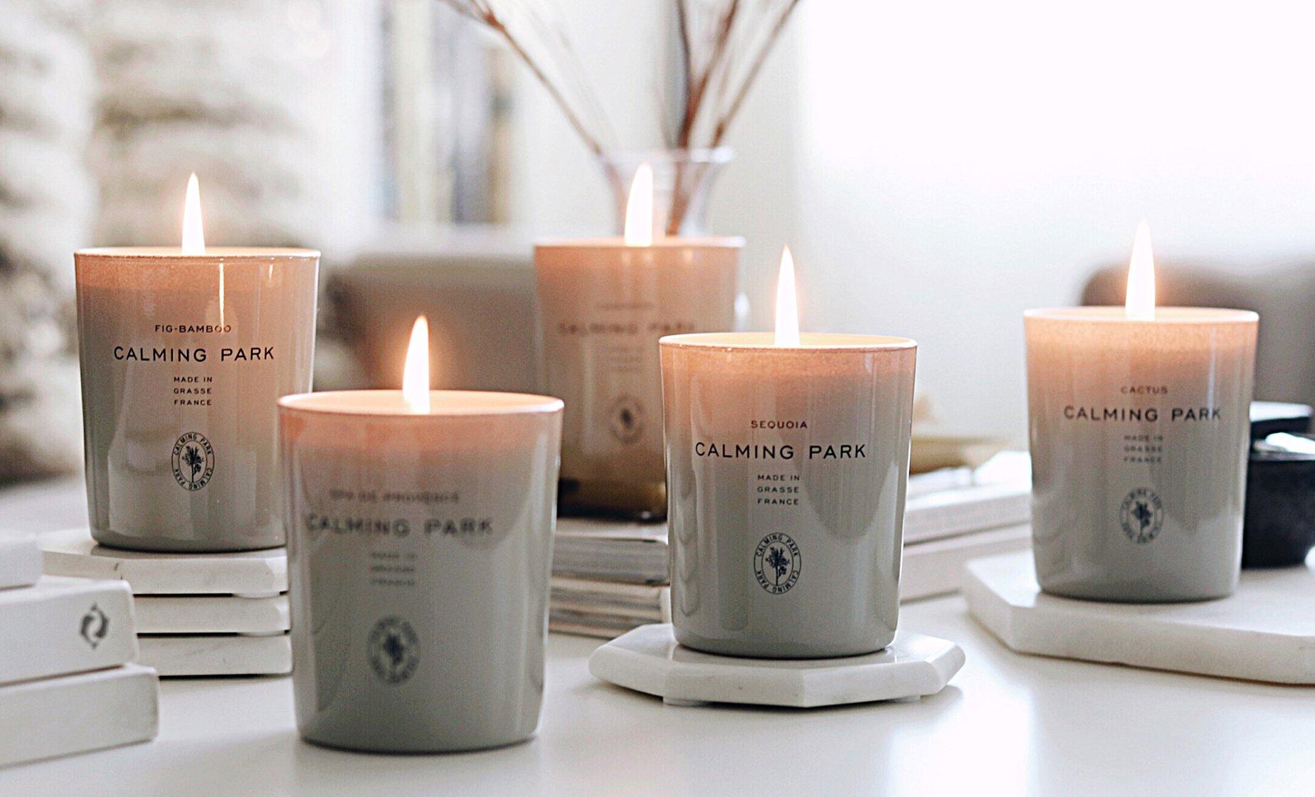 Calming Park Kerzen Produkte
