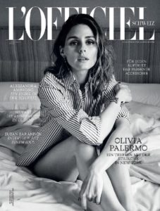 L'Officiel Cover November 2017